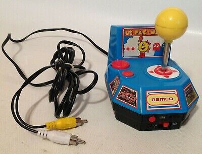 TV Plug N Play Jakks Pacific Namco Mrs Pac Man 5 In 1 Electronic TV Games