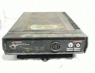 Motorola Micor R43rtb-1190aa Vintage Railroad Fm Radio