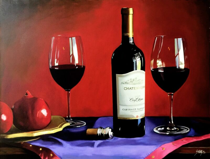"""Thomas Stiltz  """"cino Cepages"""" Wine 