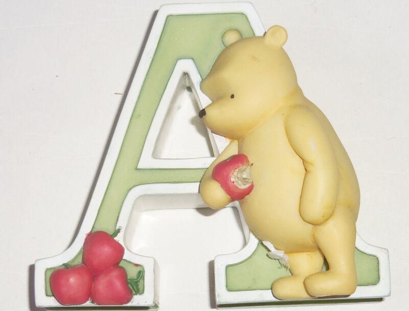 Disney Classic Winnie the Pooh Tigger Piglet Wall Letter Alphabet ACEHILNORSTVY