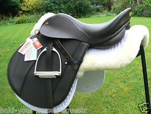 New-BEST-SELLER-German-Beauty-ALL-LEATHER-adjustable-GENERAL-PURPOSE-saddle