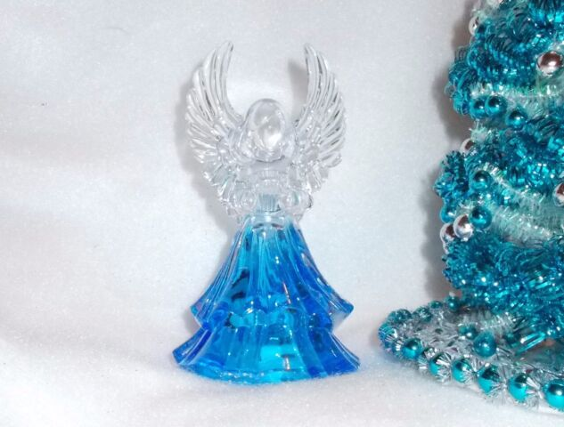 A Christmas Angel Miniature Dollhouse Picture