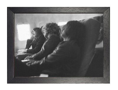 Led Zeppelin English Rock Band Poster Music Plant Black White Plane Picture