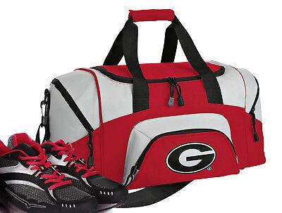 Georgia Purse (Georgia Bulldogs Small Duffle Gym Travel Bag Red )