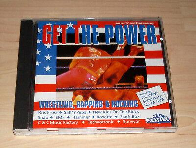 CD Album Sampler - Get the Power - Wrestling, Rapping & Rocking : Snap + EMF + .