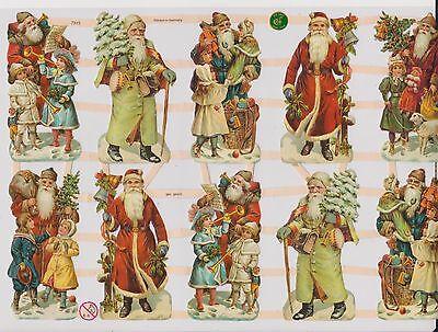 1 Bogen Glanzbilder Poesie Weihnachten ef 7313 Nr.32