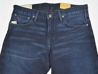 Polo Ralph Lauren Jeans Varick Slim Straight Newton Indigo 36/32 NWT