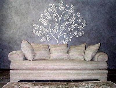 Stencil, Plaster Stencil, Life Sized Tree Wall Stencil, Tree Stencil