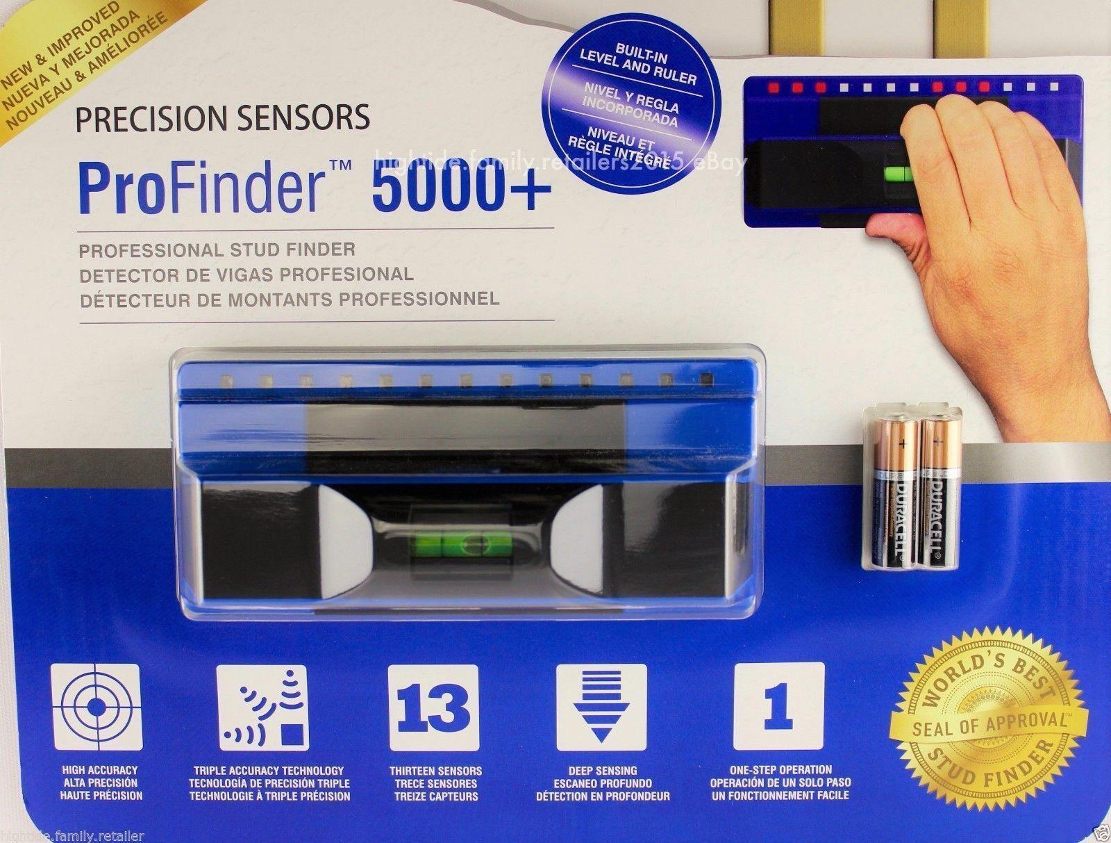 ProFinder 5000+ PLUS Stud Finder Precision Sensor Scanning Detector|NO SALES TAX