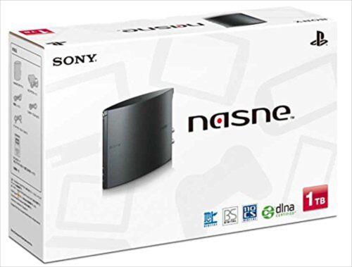 SONY+PlayStation4+PS4+Nasne+1TB+Black+CECH-ZNR2J01+DVR+Photos+videos+music+NEW