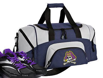 SMALL East Carolina University GYM BAG SMALL ECU Duffel Bag TRAVEL BAG