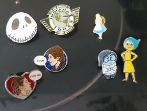 Disney enamel pins for sale!