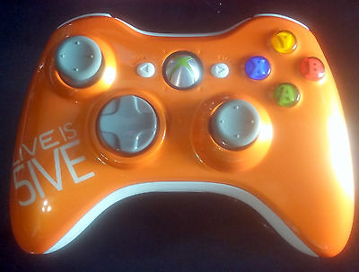 Xbox 360 Controller Practicable Prototype LIVE TURNS FIVE only 500 pro LIVE IS 5IVE