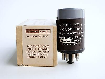 Harman Kardon XT3 audio transformer - mic transformer - mc step up - moving coil