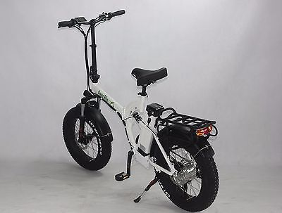 Green Bike USA GB750 fat tire folding Electric Bicycle 8FUN 750W MOTOR+48V/15.6A