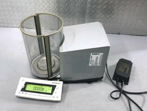 Sartorius MC1 Research RC 250 S Balance Scale w/ Original Power Supply (RC250S)