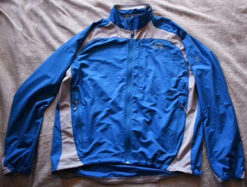 THE NORTH FACE Flight Series Windbreaker Jacket Mens XL Blue Gray Grey