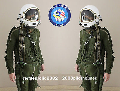 Spacesuit Exaltation of larks Helmet High Altitude Astronaut Space Pilots  Flight Suit NEW