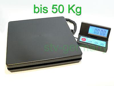 50kg Plattformwaage Paketwaage Briefwaage Tischwaage Digital-Waage Waage SF-890