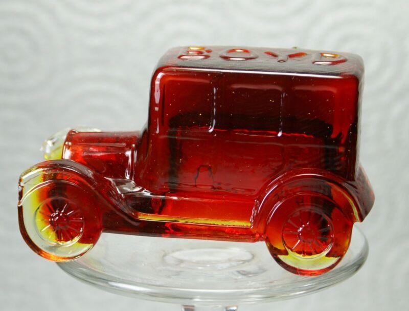 Boyd Glass Taxicab Cherry Red