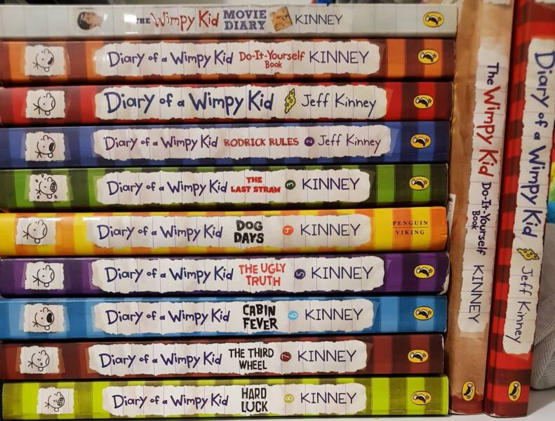 Diary of a wimpy kid jeff kinney childrens books gumtree diary of a wimpy kid jeff kinney solutioingenieria Gallery