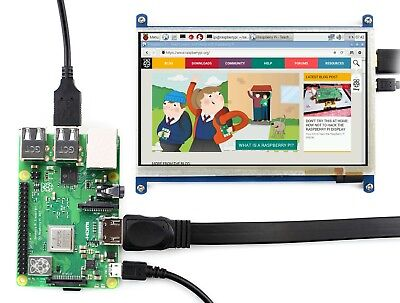 7inch Hdmi Lcd For Rpi 800480 Capacitive Touch Screen Supports Windows 108.1