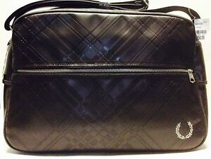 Fred Perry Tartan Embossed Shoulder Bag 93