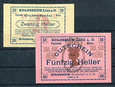 Kolosseum Linz Variete 2 Scheine ...........................................z400