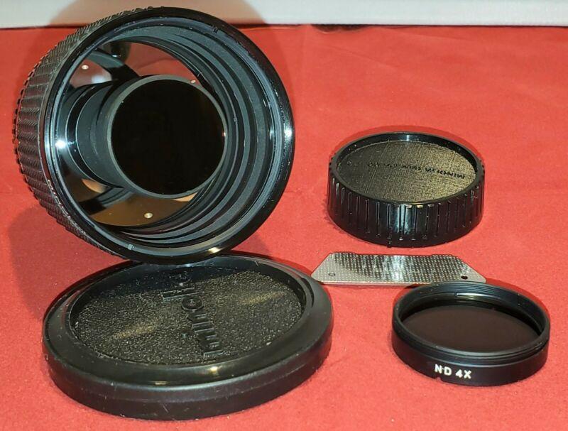 RARE Vintage Minolta RF Rokkor-X 250mm 1:5.6 Lens MD Mount SN: 1027976 MD Mount