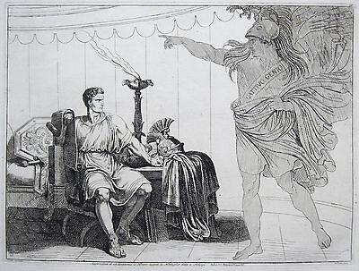 "BARTOLOMEO PINELLI BRUTUS ""L'ISTORIA ROMANA"" 1819 BRUTO ROMA BATTAGLIA PHILIPPI"