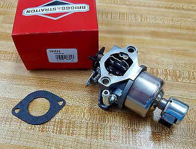 Briggs Stratton Oem Parts - Briggs & Stratton Genuine Parts Carburetor 594593 591731 794572 796109 OEM Carb