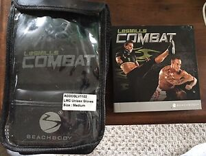 LesMills Combat DVD workout with gloves