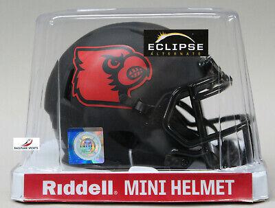 LOUISVILLE CARDINALS - Black Eclipse Riddell Speed Mini Helmet (NEW IN BOX)