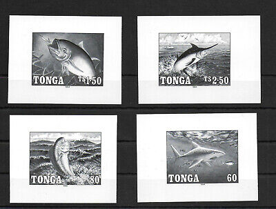Tonga, 1994, Fishing, deluxe, MNH, not listed