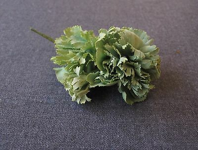 VINTAGE FLOWERS  APPLIQUE WITH PIN MILLINERY JEWELRY MAKING  #6