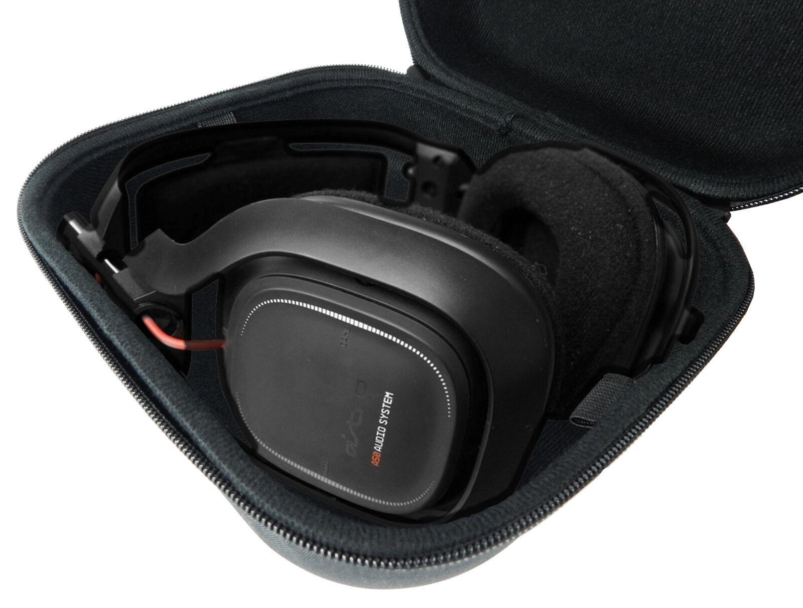 CASEMATIX Protective PC Gaming Headset Storage Case Bag -