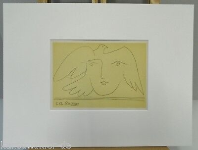 PICASSO Original Mourlot Lithograph Visage 5.12.50 - 17