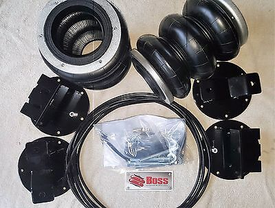 Ford F150 Lifted 2009 to 2018 BOSS Air Bag Suspension Load Assist Kit LA-36T