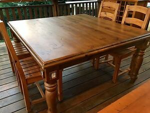 Timber furniture dining table coffee table wine cabinet Holland Park Brisbane South West Preview