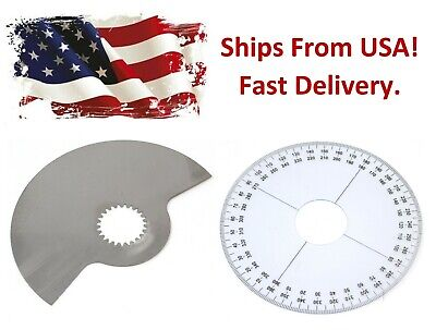 SeaDoo Rotary Valve 159 Degree Plate & Timing Wheel Set 420924502  717 720 787