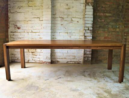 LBF Handmade Reclaimed Recycled Bespoke Timber Wood Dining Table