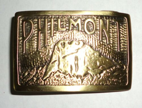 Philmont Scout Ranch Vintage Style Bronze Tooth of Time Belt Buckle