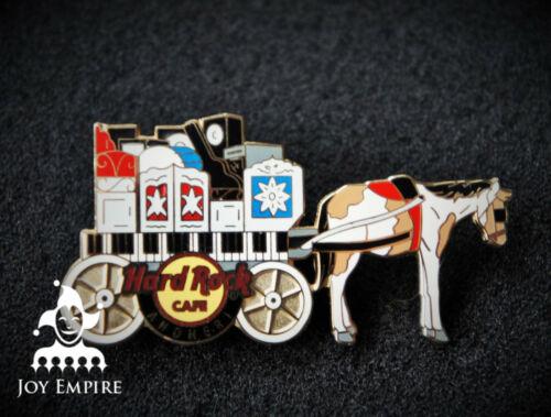 Hard Rock Cafe Andheri India Horse Carriage Pin 2013