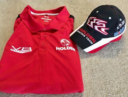 Holden HSV / HRT Genuine Team Cap and Polo Shirt *Size 7XL