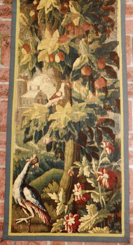 A Gorgeous 18th Century Tapestry with Birds