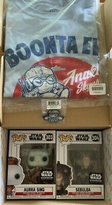 Funko POP! Star Wars Smugglers Bounty August 2019 Box Podracing Theme Size Large
