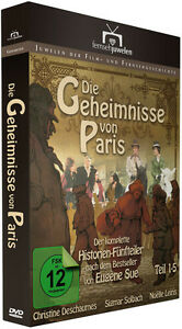 Die Geheimnisse von Paris - Teil 1-5 - mit Sigmar Solbach - Fernsehjuwelen DVD