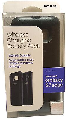 Original Samsung Galaxy S7 Edge Wireless Charging Battery Pack Extra Juice Case