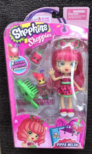 Shopkins Shoppies Marsha Mello Doll & 2 Exclusive Shopkins