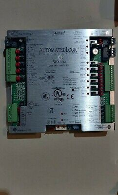 Automated Logic Se6104a Bacnet Control Module Class 2 24v Ac 30va 0.83a
